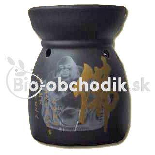 Aroma lamp HOTEI (LAUGHING BUDDHA) BLACK