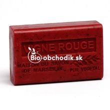 Bio soap Shea butter - Red wine 125g