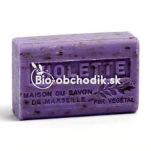 Bio soap Shea butter - Heartsease (Viola tricolor) 125g