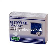 CHITOSAN binder of fats and heavy metals 100tbl.