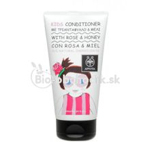 Baby hair conditioner Rose (Rosa) & Honey Apivita 150ml