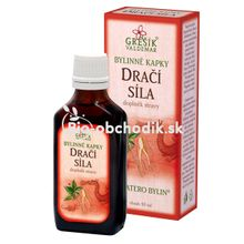 Dragon strength herbal drops 50ml Grešík