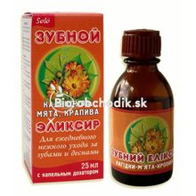 "Elixir for teeth and gum care ""Marigold"" (Calendula) 25ml"