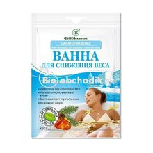 """FITOCOSMETIC """"Domestic spas"""" - Bath for weight reduction """"Turpentine"""" 75ml"""