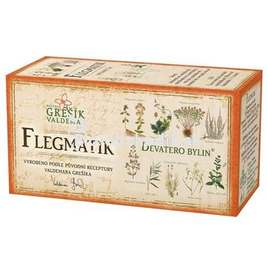Phlegmatic tea bags 20g