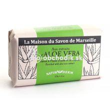 MARSEILLE Soap NATURIDERM - Aloe Vera 125g