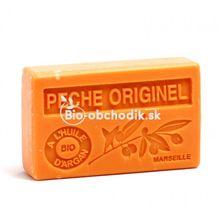 Soap BIO argan oil - Peach 100g