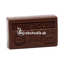 Soap BIO argan oil - Red grape 100g