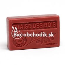 Soap BIO argan oil - Wild strawberry (Fragaria vesca) 100g