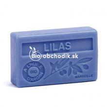 Soap BIO argan oil - Lilac (Syringa) 100g