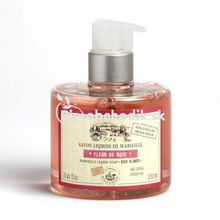 "Liquid soap from Marseille ""Rose flowers"" 330ml"