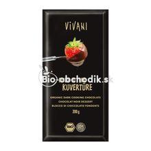 Cooking chocolate dark Vivani 200g